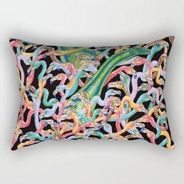 Flamencos y diplodocus Rectangular Pillow