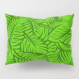 Great Palm Leaves Pillow Sham