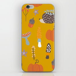 Fall Critters iPhone Skin