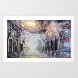 Cataclysm Art Print