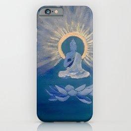 Blue Thai Buddha iPhone Case