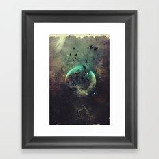 βyrd wyrld Framed Art Print