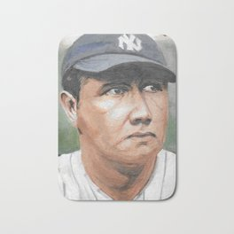 babe ruth Bath Mat