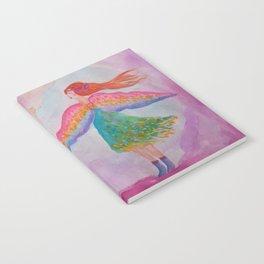 Rainbow Wings Notebook