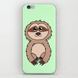 Little sloth iPhone Skin
