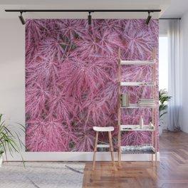 Japanese Maple Leaves Wall Mural