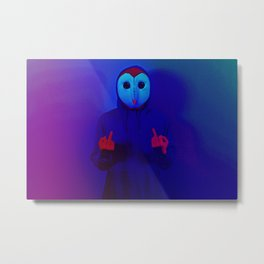 Hello There. F*ck Off Please. Metal Print