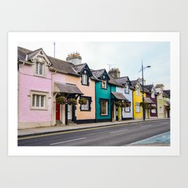 Colourful Street Art Print