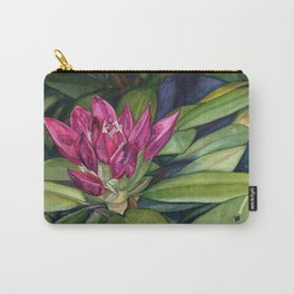 Rhododendron Bud Carry-All Pouch