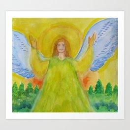 Len's Angel Art Print