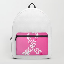 Breast Cancer Ribbon Backpack