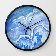 Blue onyx Wall Clock