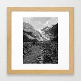 Franz Josef Glacier Framed Art Print