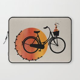 Two Wheeled Wonder Laptop Sleeve