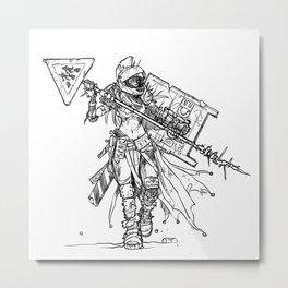 Post-Catastrophe Arena Challenger Metal Print