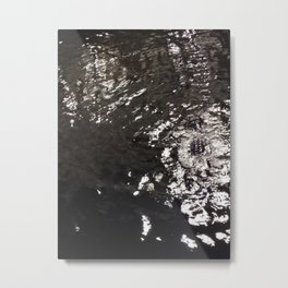 Gater in the Water Metal Print