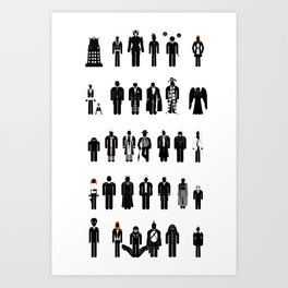 Time and Space Recognition Guide Art Print