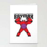 8bit Stationery Cards featuring BAYMAX (8BIT) by Akiwa
