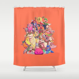 Down-B Shower Curtain