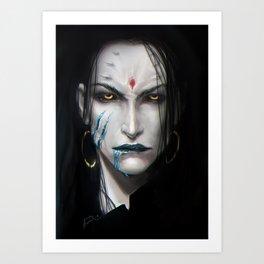 Kamoril portrait Art Print