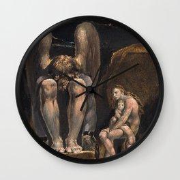 William Blake - America. A Prophecy, Plate 1, 1793 Wall Clock