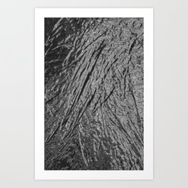 Chrome Abstract Art Print