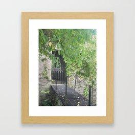 Secret Castle Gateway Framed Art Print
