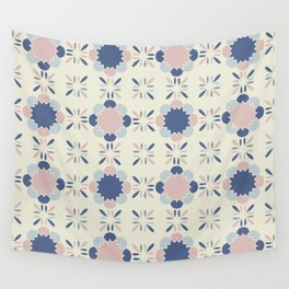 Pastel Tile Wall Tapestry
