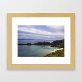 Irish Ocean Framed Art Print