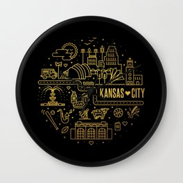 kcmo icons Wall Clock