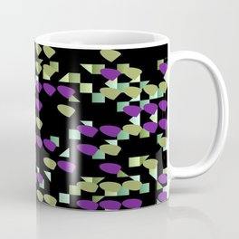 Magenta Lime Floaters Coffee Mug