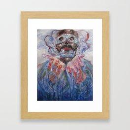 Tezcatlipoca Framed Art Print