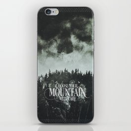 Choose wisely iPhone Skin