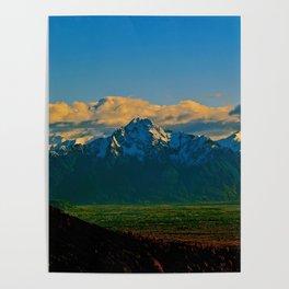 Pioneer Peak - Mat-Su Valley Poster
