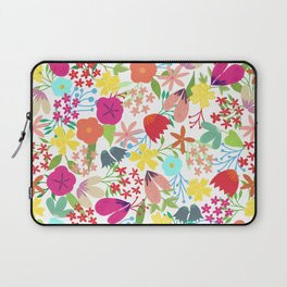 Wildflower Pattern Laptop Sleeve