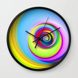 Spinning Circles Wall Clock
