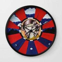 Psychic Vision Wall Clock
