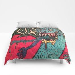 DEMON GOD 'FREAK ANY HO' Comforters