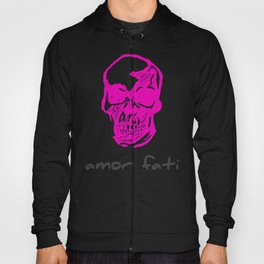 Amor Fati: Pink Skull Hoody