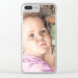 Captivated Clear iPhone Case