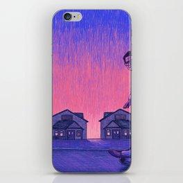 The Skateboarder iPhone Skin