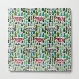 Christmas Tree Farm Metal Print