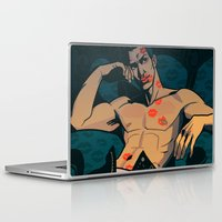 moulin rouge Laptop & iPad Skins featuring Rouge by Jemma Salume