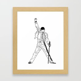 Don't Stop Me Now Framed Art Print