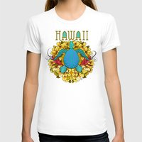 hawaii T-shirts featuring Hawaii by Renee Ciufo