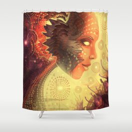 Smells and sensations Shower Curtain