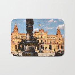 Plaza de Espana, Seville Bath Mat