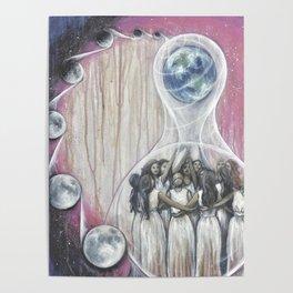 The World - Tarot Card Art Poster