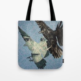 Nameless Here for Evermore Tote Bag