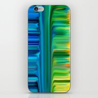 waterfall iPhone & iPod Skins featuring Waterfall by Bruce Stanfield